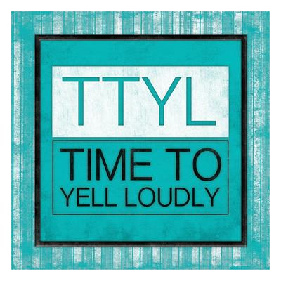 TTYL Bordered