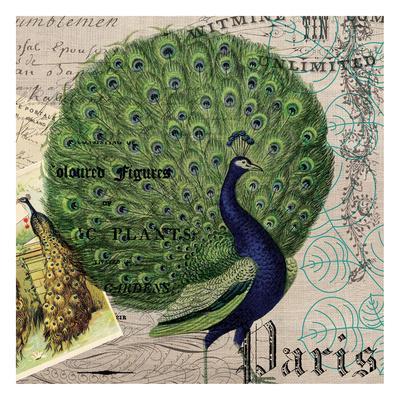 Botanical Peacock