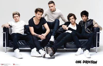 One Direction Not Smiling Couch