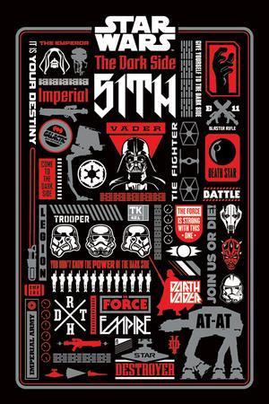 Star Wars - Dark Side Icongraphic