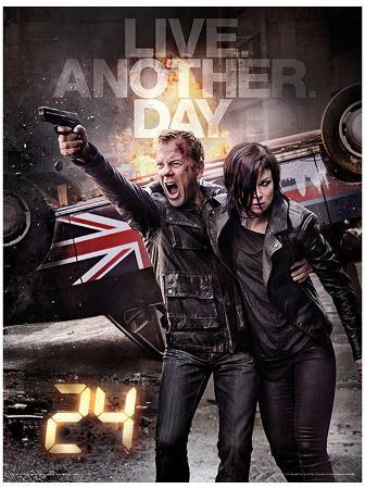 24 - Live Another Day Poster