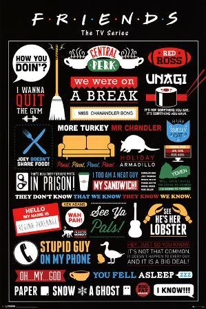Friends Infographic