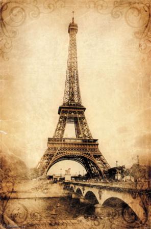 Eiffel Tower - Rustic