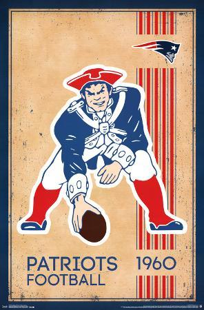 NEW ENGLAND PATRIOTS - RETRO LOGO 14