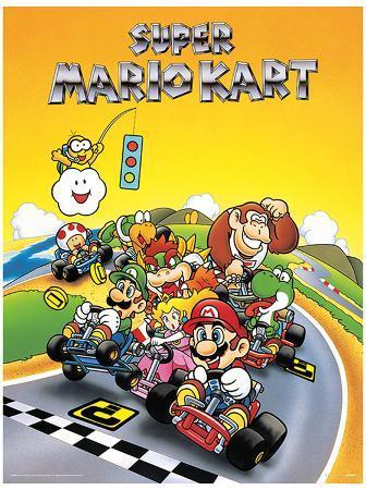Super Mario Kart - Retro