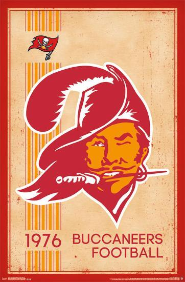 tampa bay buccaneers retro logo 14 posters allposters com tampa bay buccaneers retro logo 14