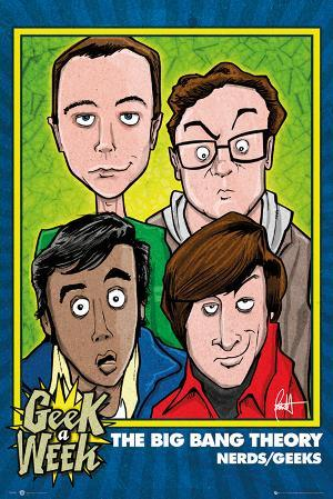 The Big Bang Theory - Geeks Nerds