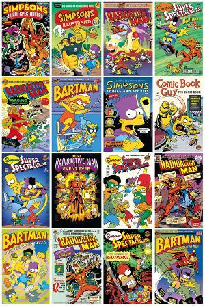 The Simpsons - Comic Covers