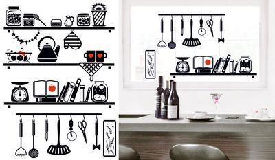 Kitchen Board Window Sticker Decal