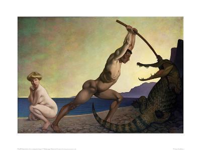 Perseus Slaying the Dragon
