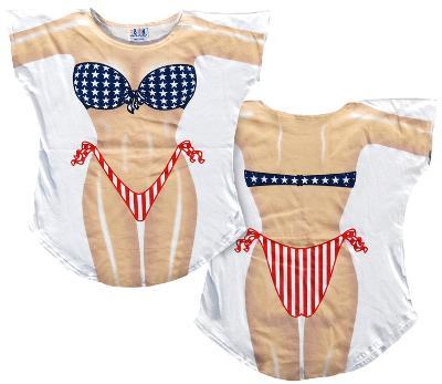 Stars & Stripes Bikini Cover-Up