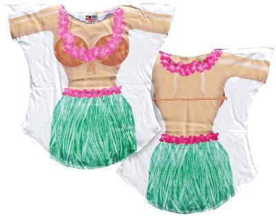 Hula Girl Cover-Up
