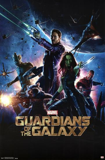 Guardians Of The Galaxy One Sheet Posters At Allposters Com