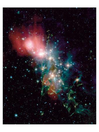 NASA - NGC1333 Chaotic Star Birth