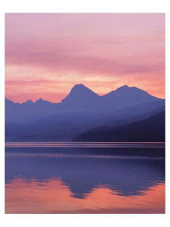 Glacier Apgar Sunrise 1