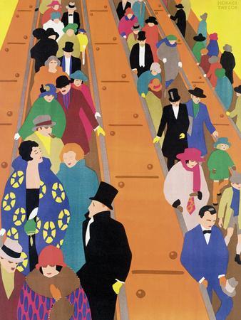 Brightest London is Best Reached by Underground, 1924