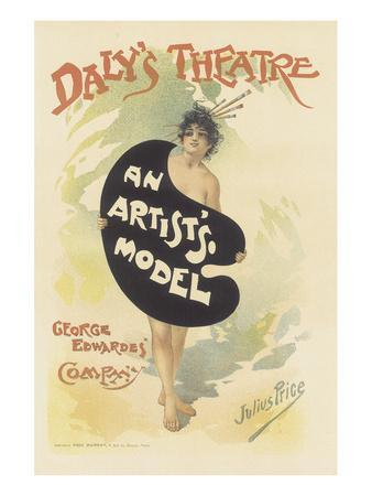 Daly's Theatre, An Artist's Model (Musical Comedy)
