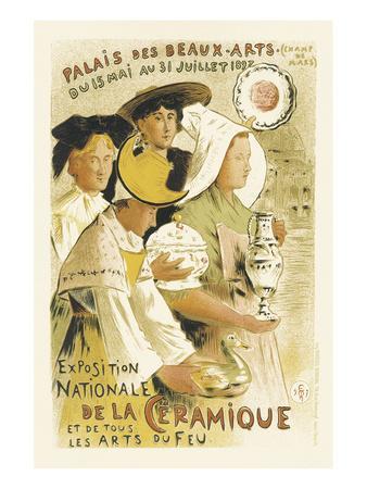 Exposition Nationale De La Ceramique - Palais Des Beaux-Arts, Champ-de-Mars, Paris
