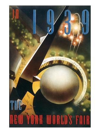 The New York World's Fair, c.1939