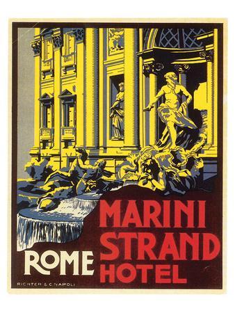 Marini Strand Hotel, Richter & Napoli