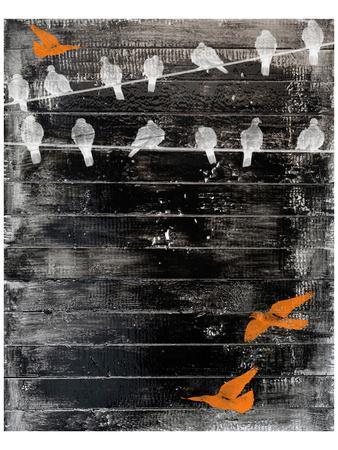 Birds on Wire II