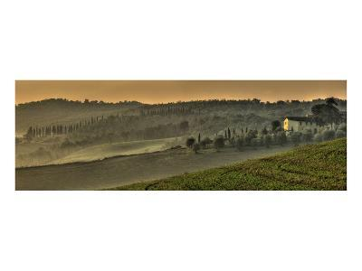 Tuscany Val d'Orcia Panorama
