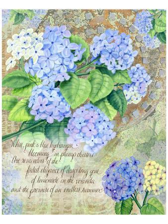 Blue Hydrangea I