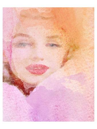 Lady In Rose Cloud
