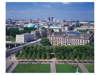 Kronprinzenpalais and German State Opera, Unter den Linden, Berlin, Germany