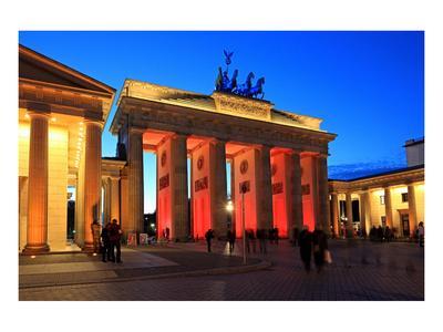Festival of Lights, Brandenburg Gate at Pariser Platz, Berlin, Germany
