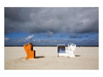 Beach at Ostbad, Norderney, East Frisian Islands, Lower Saxony, Germany