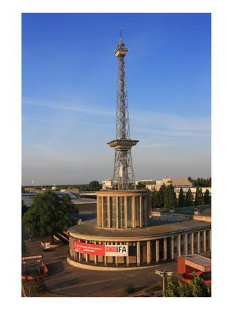 Radio Tower called Langer Lulatsch, meaning Lanky Lad, on the Exhibition Grounds in Berlin, Germany