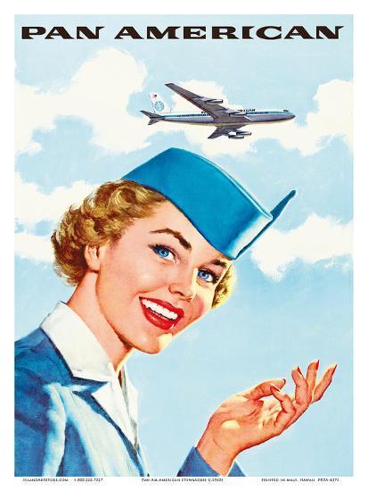 Pan Am American Stewardess Posters at AllPosters.com