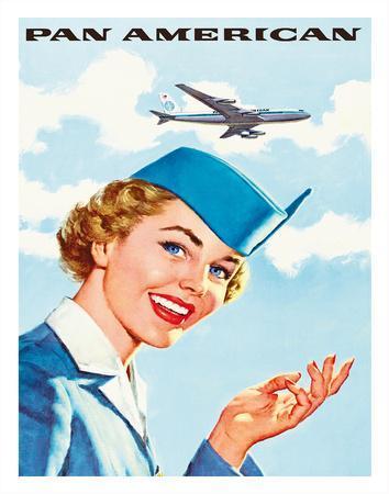 Pan Am American Stewardess