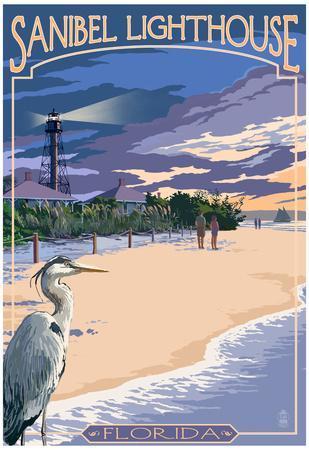 Sanibel Lighthouse - Sanibel, Florida