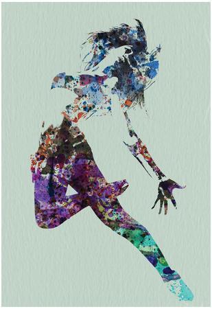 Dancer Watercolor