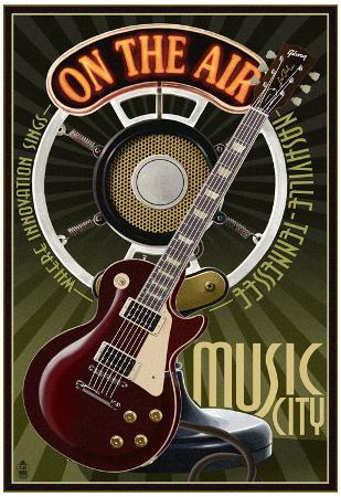 Nashville, Tennessee - Guitar and Microphone