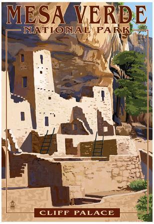 Mesa Verde National Park, Colorado - Cliff Palace