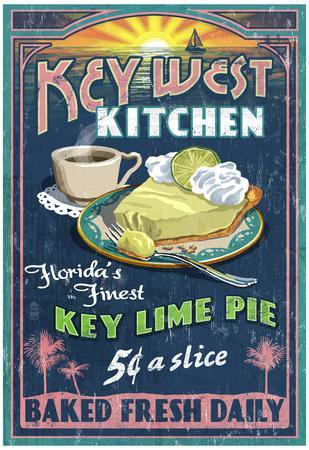 Key West, Florida - Key Lime Pie