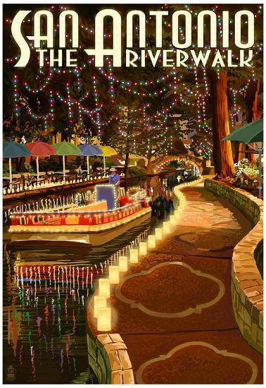 The Riverwalk San Antonio Texas Posters At Allposters Com