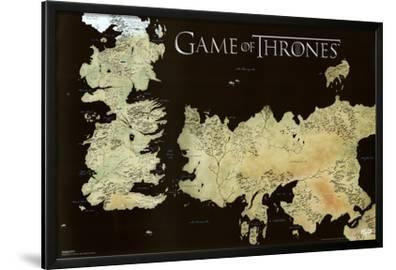 Game of Thrones Horizontal Map