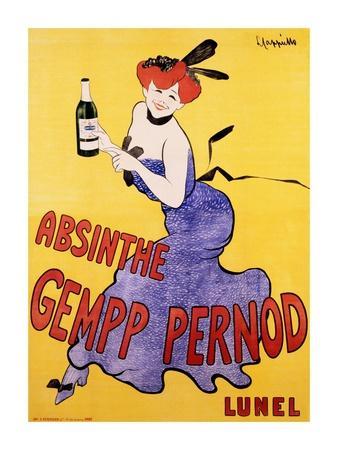 Absinthe Gempp Pernod, 1903