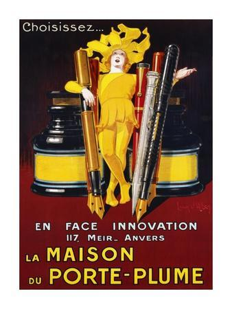 La Maison du Porte-Plume, 1924