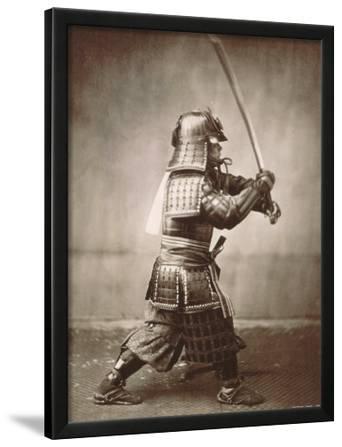 Samurai Brandishing Sword