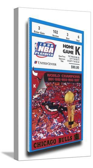 1998 NBA Finals Mega Ticket - Game 3 - Chicago Bulls ...