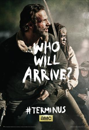 The Walking Dead - Terminus Rick and Michonne