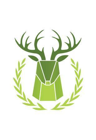 Paper Taxidermy Deer