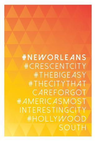 Hashtag City New Orleans