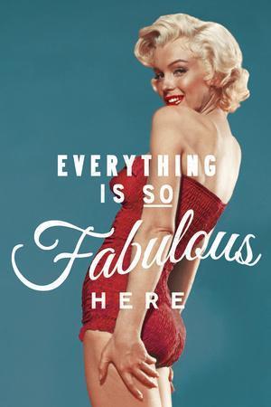 Fabulous Marilyn - Blue
