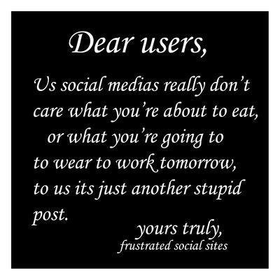Stupid Post 1